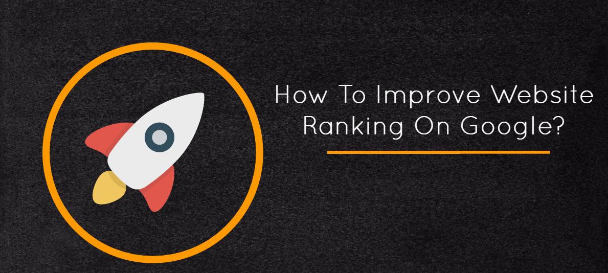 Improve website ranking on Google