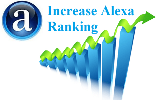 How can we increase the Alexa ranking?