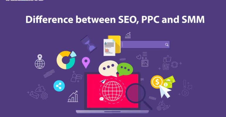 What are the differences between SEO and SMM?
