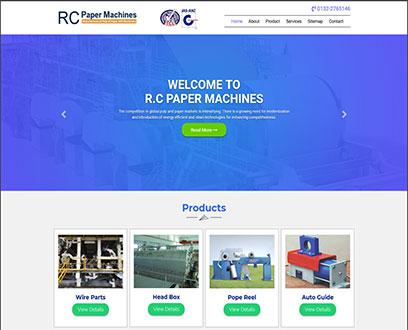 R.C Paper Machines