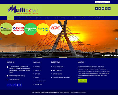 Multi Power Global Solutions Ltd.