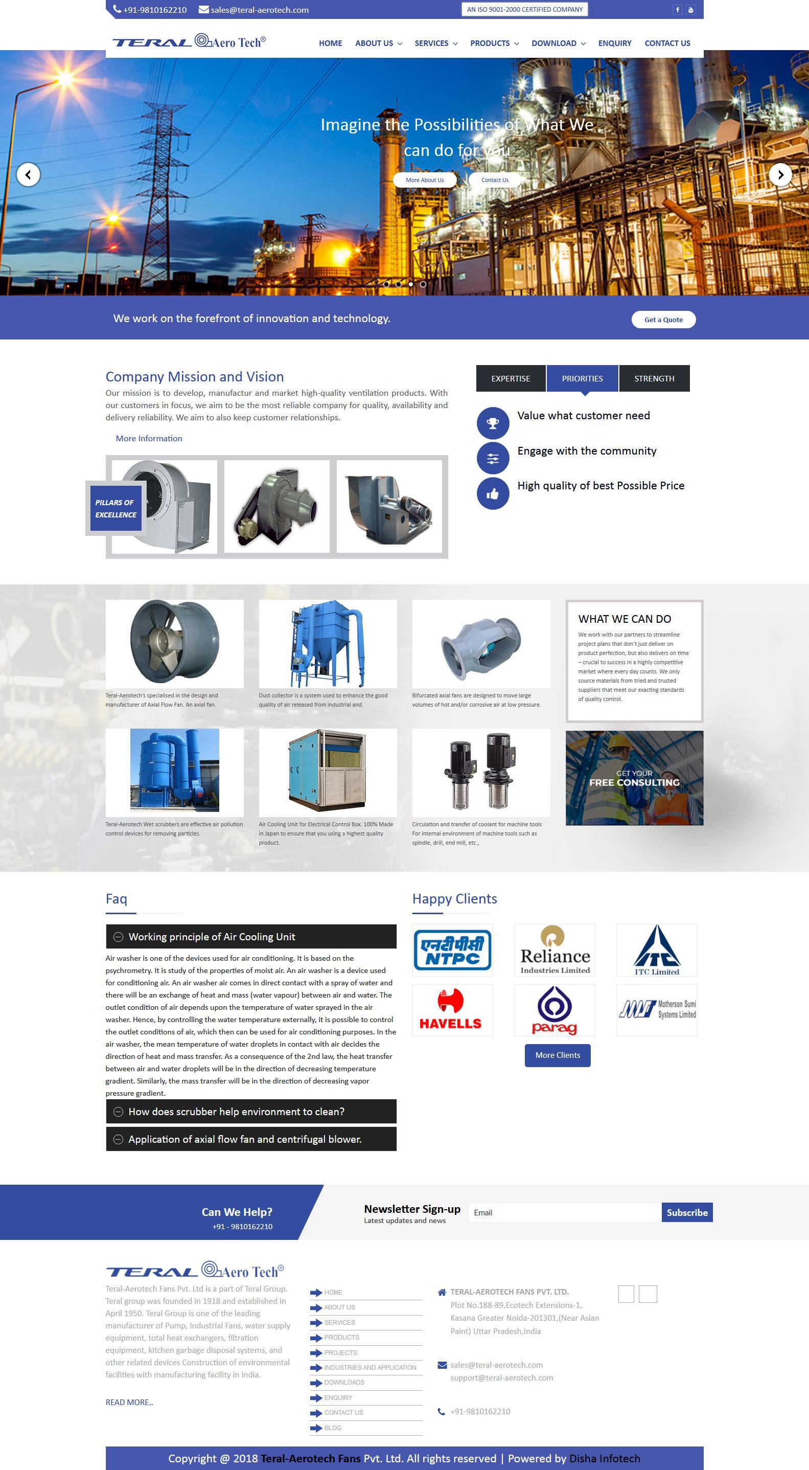 Teral-Aerotech Fans Pvt. Ltd